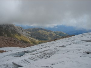 ледник в Хосте район сочи