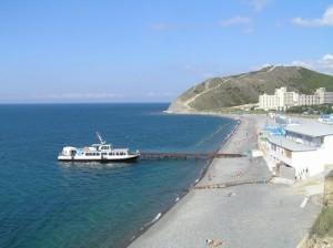 пляж в Сукко оборудован всем