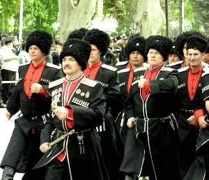 Форма кубанских казаков
