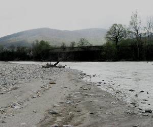 Река Пшеха Краснодарский край