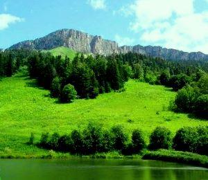 Горы и предгорья Кубани