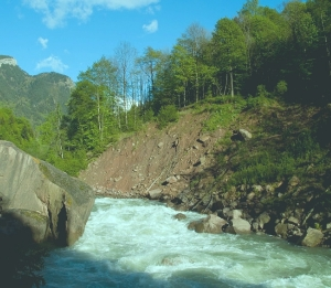 Река Лаба Краснодарский край