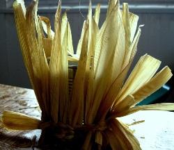 Плетение из кукурузы