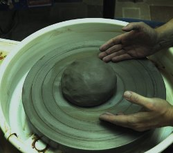 Работа на гончарном круге