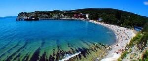 Курорты Кубани: Голубая бухта