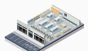 Некоторые принципы создания торговых залов