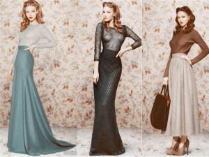 Зимняя юбка и её особенности