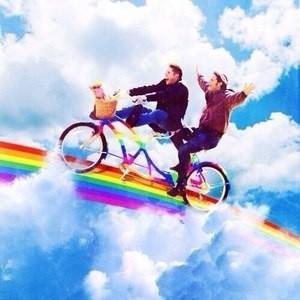 Катание на велосипеде