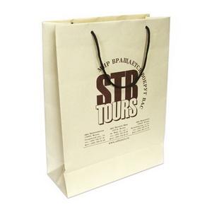 Бумажные пакеты с логотипом компании