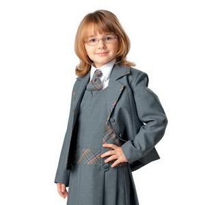 Как сшить школьную форму для девочки по выкройкам Burda 16