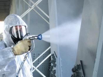 Обработка металлоконструкций для повышения их огнезащиты