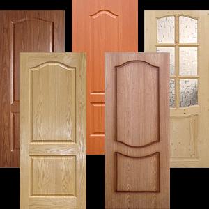 Достоинства шпонированных дверей