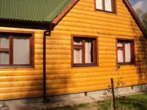 Блок-хаус панели для отделки зданий