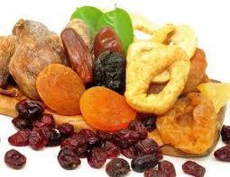 Мед и сухофрукты - полезные сладости