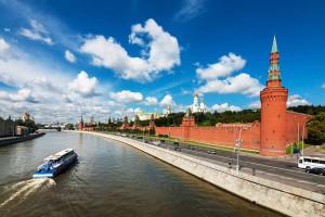 Прогулка по Москве на теплоходе