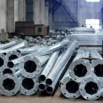 Производство металлических опор и светотехники в Сибири