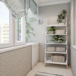 Современные качественный ремонт балкона